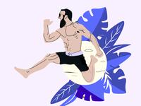 Illustration for a UI (Travel)