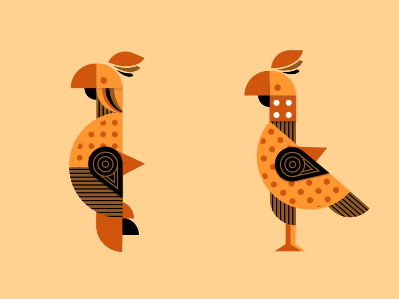 Symmetrical Parrot