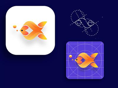 Icon Fish For iOS fishing fish icon fish logo fish illustration app icon design app icon ui ios7 ios app mobile ui mobile app uidesign uiux ios icons icon dailyui app