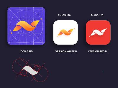 ICONWAVEIOS 3d logo 3d shapes 3d art 3d design app app design uidesign icons mobile app ios ios app ios7 dailyui uiux illustration icon design app icon app