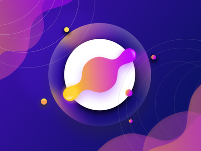 App Icon and Logo Design logo branding beauty logo rotator artwork abstract app icon design icon gradient color gradient illustration ui