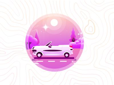 #1 DDI-Michelin Badge: Convertible Cars