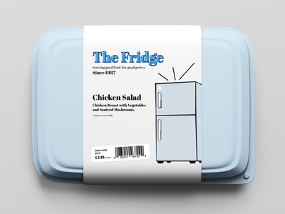 The Fridge | Packaging Label