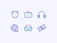 The icons of daily life