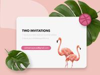 Dribbble Invitations