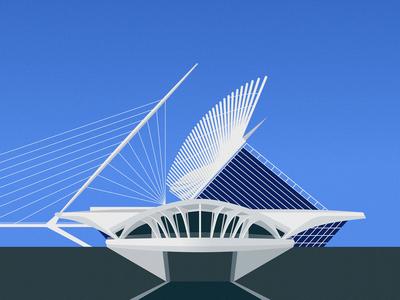 Calatrava — Milwaukee Art Museum