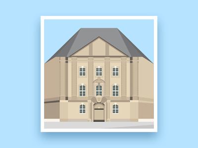 Formsaachen Aachen Karmeliterhöfe Illustration