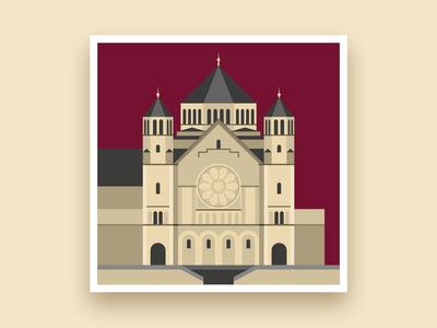 Formsaachen Aachen Herz Jesu Kirche Illustration