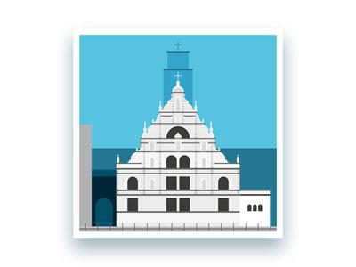 Formsaachen Aachen St. Michael Basilica Illustration