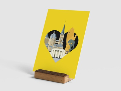 Formsaachen We Love Aachen Illustration