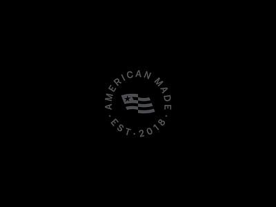 American Made lockup made usa flag america american