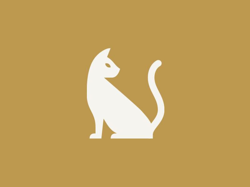 Cat simple illustration cat