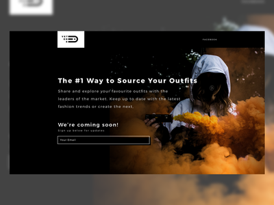 Vetode Landing Page - Website Coming Soon landing page coming soon colour orange smoke flair page landing vetode soon coming