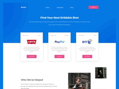 Drool - Homepage Shot Two