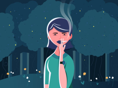 Smoking in the Park
