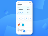 Wallet App - Light Theme