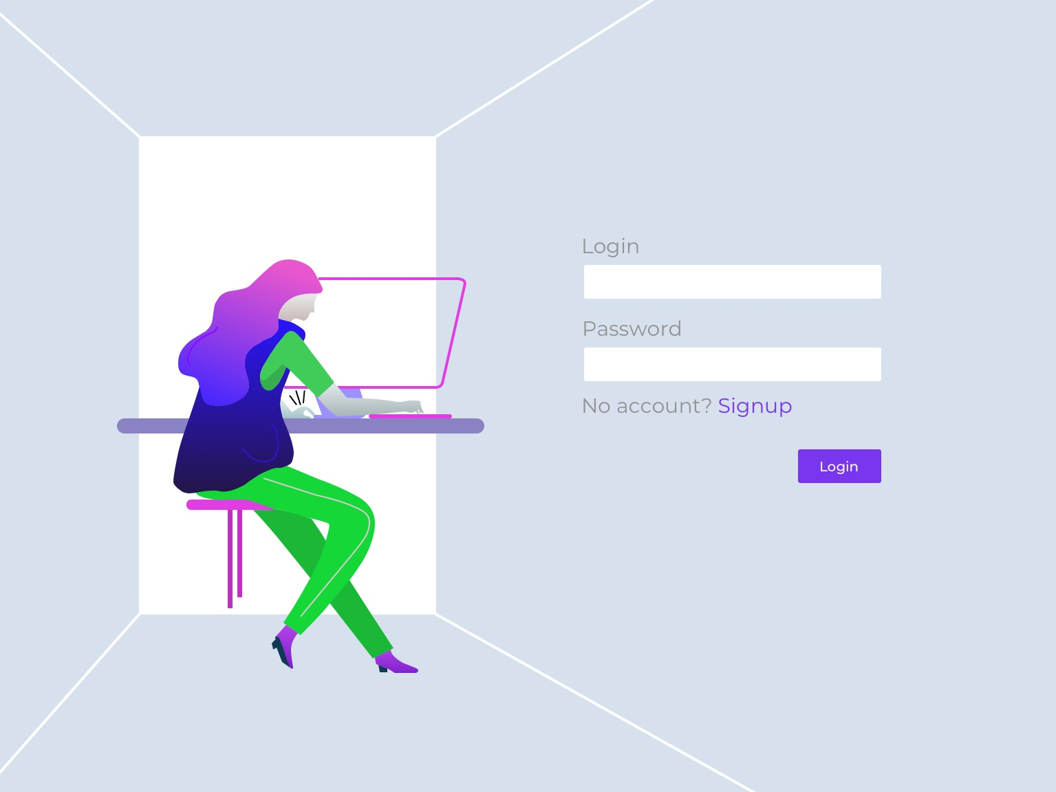 Illustration ui ux design ui sign up page vector illusions daily ui 001