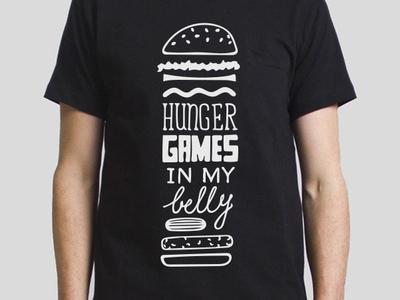 Nom Nom Lettering custom type tshirt design lettering hamburger burger