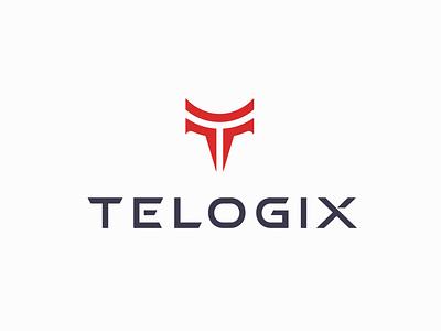 Telogix (unused) web vector branding lettermark typography icon app technology phone service t logo letter t minimal modern logo design
