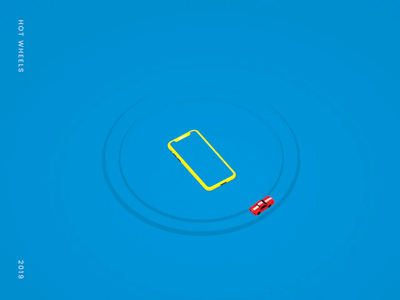 Animation for Hotwheels aftereffects motion design animation 3d c4d 3d animation