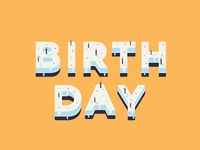 Birthday Invite | Dribbble invite