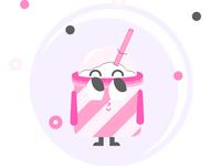 Character Design - Cup Bob