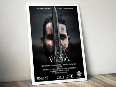 Movie Poster Composite viking photoshop graphic design posters photography