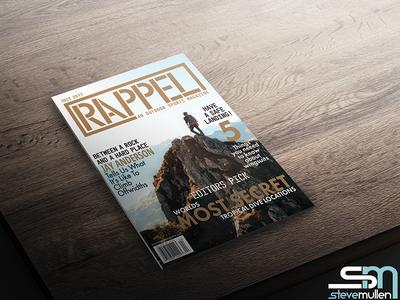 Magazine Cover Concept layout graphic design magazine outdoors indesign illustrator photoshop