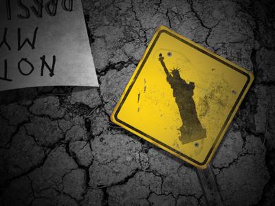 Freedom photoshop. vector art illustration signage graphic design
