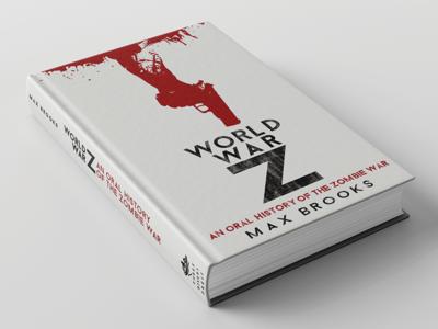 World War Z Book Cover Re-design book cover print illustration graphic design