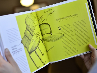 Aula 360º (Inside 2) layout print chair sketch graphic book