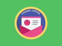 Thanks Junior