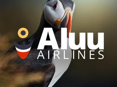 Aluu Airlines Identity airlines aluu identity atlantic puffin greenland denmark copenhagen nuuk