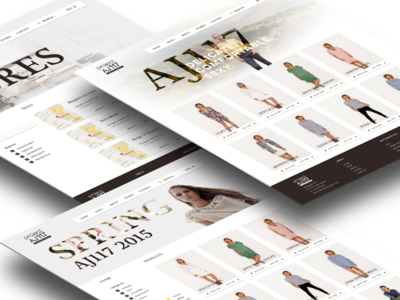 Ecommerce site AJ117 female aj117 denmark copenhagen ecommerce fashion material design