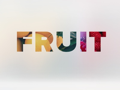 Fruit background blur apple blur blur fruit typography