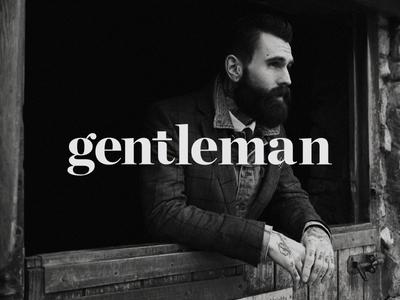 gentleman typography chronicle chronicle display beard suit gentlemen dapper hat t typography gentleman