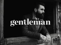 gentleman typography