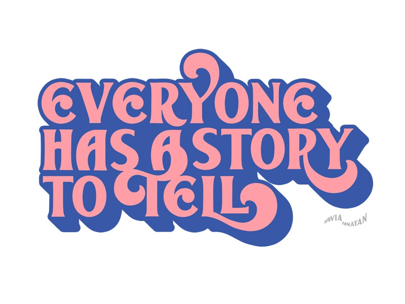 everyone has a story to tell illustration