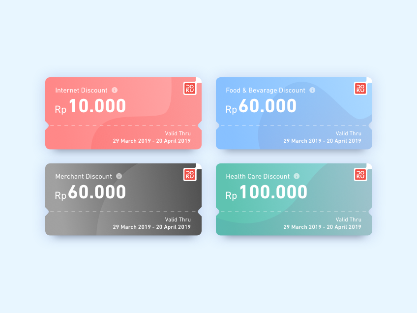 Coupon Design by Mhd Rizky Ferianda on Dribbble