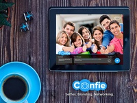 Confie - The Smartest way to network with selfies