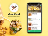 GoodFood - On-Demand Food Delivery & Restaurant App
