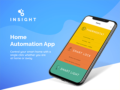Insight - Home Automation App
