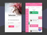Salonizer - App for Salon Stylists