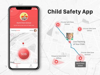 Children Safety App