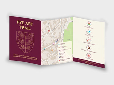 Brochure Design for Rye Art Trail