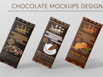 Chocolate Cadbury Creative Mockups Designs