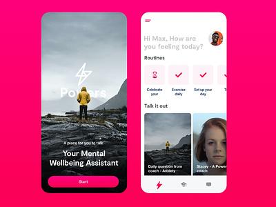 IOS prototype ui mental health invision ios