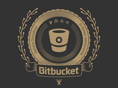 Bitbucket Million Users Crest atlassian bitbucket crest shirt