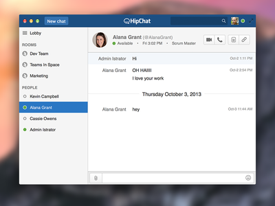 Hipchat 3.0 hipchat osx