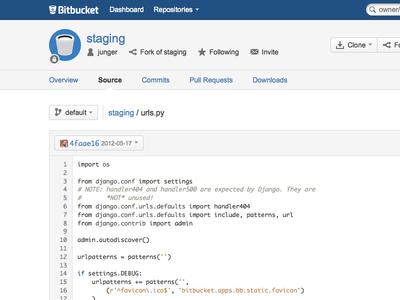 Bitbucket Redesign